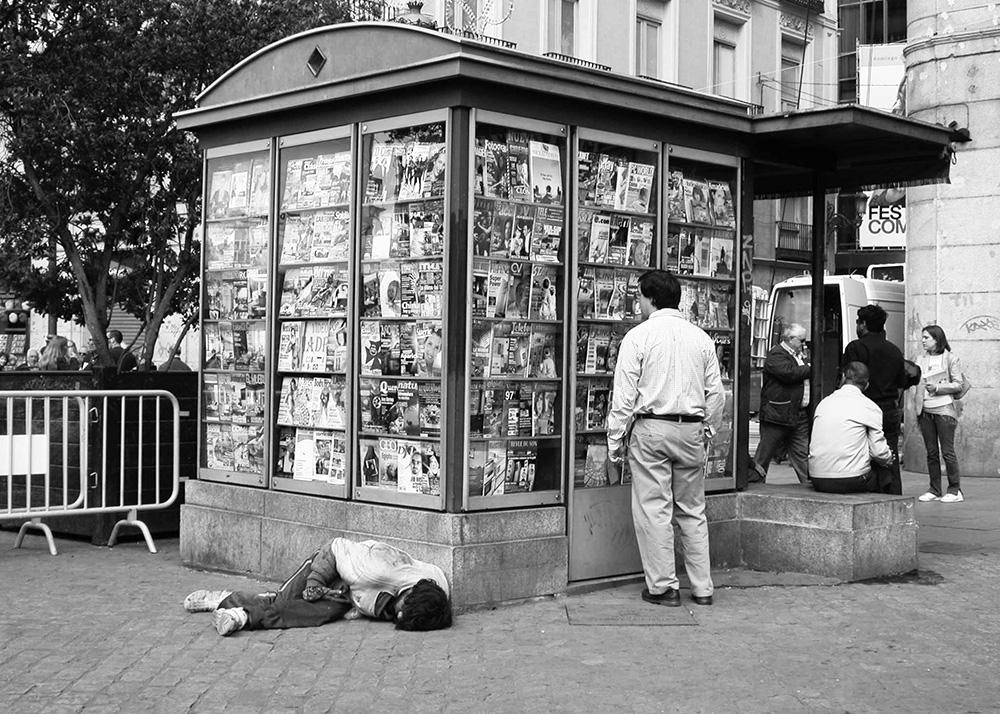 <p>Un día cualquiera. Puerta del Sol, Madrid</p>